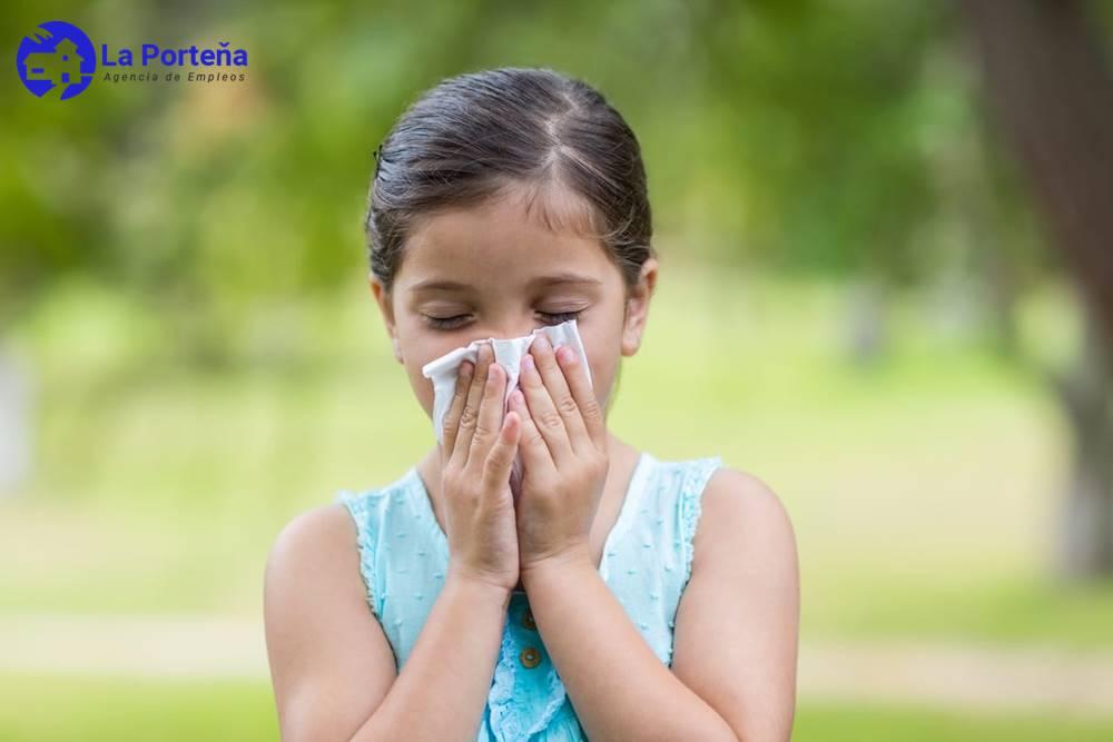 Niños con alergia: alimentos que debe evitar